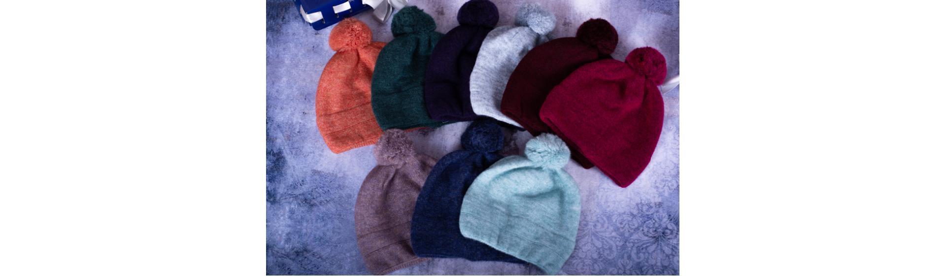 Коллекция теплых шапок
