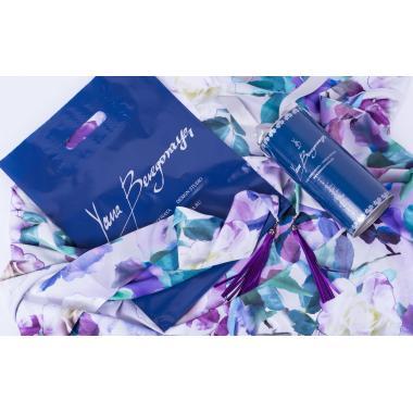Платок #PurpleRose