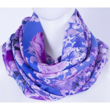 Платок #Purple flowers