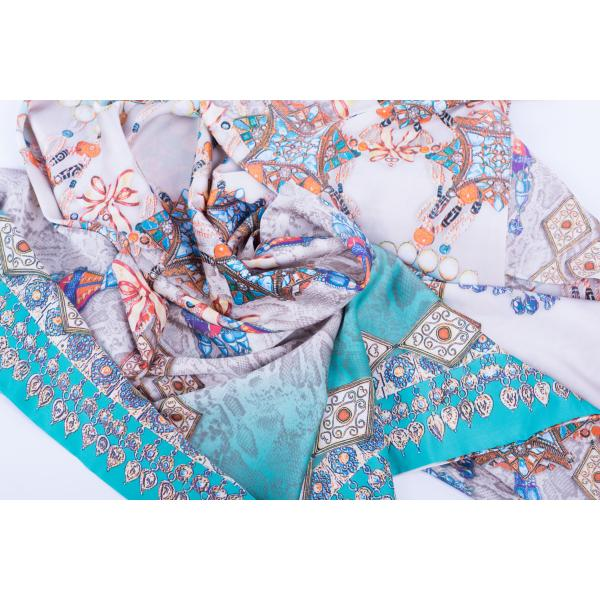 Шелковый платок #Beads&Pithon SH-100-12