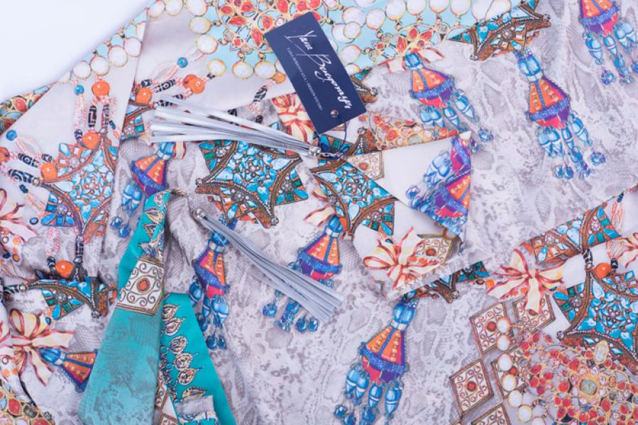 Шелковый платок SH-100-12