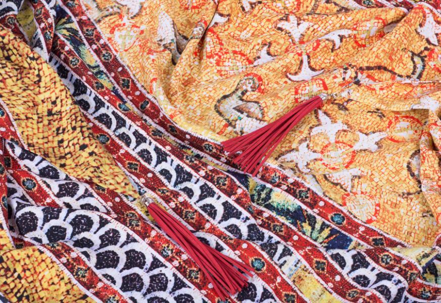 Теплый платок ВЗ-701-13