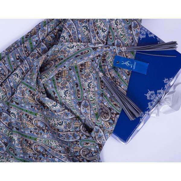 Теплый платок #Greenpaisley ВЗ-601-7