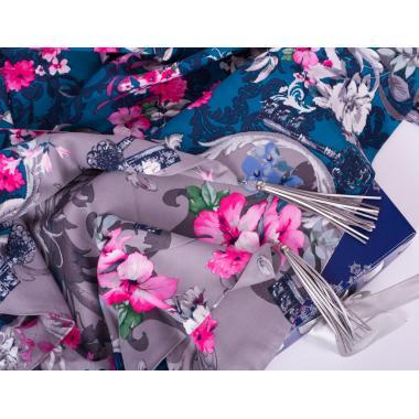 Платок #Flower&keys