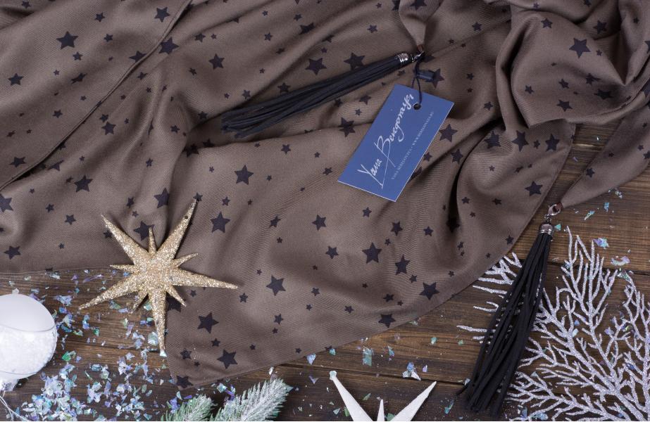 Теплый платок #Greenstars ВЗ-100-7