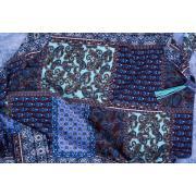 Теплый платок #Bluepaislay