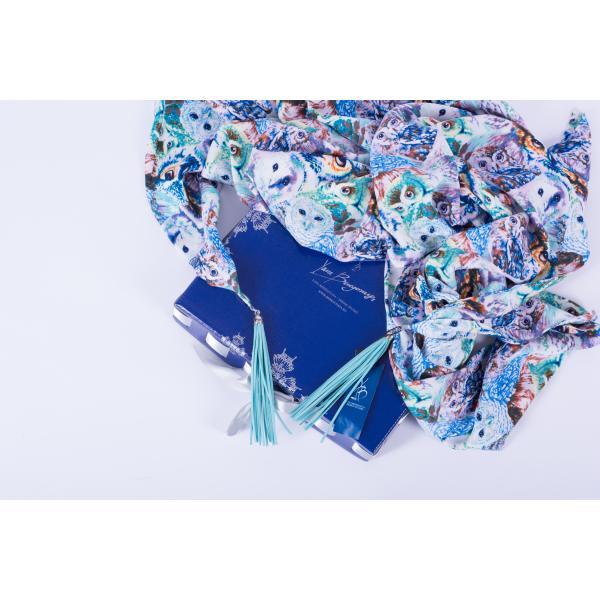 Платок вискоза-шелк ВЗ-100-9