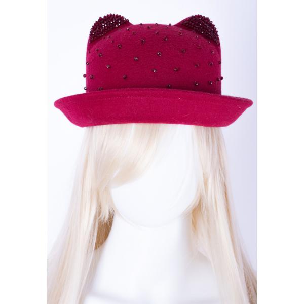 Фетровая шляпка ШК-1 с вышивкой