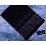 Капор жаккардовый КЖ-2 черный-серый